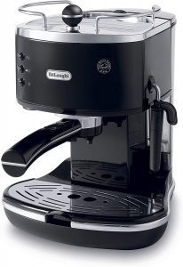 Espresso coffee machine with Pannarello frothing wand Delonghi Eco310