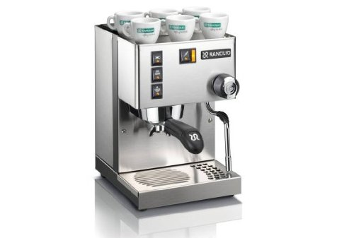 espresso and steamed milk machine